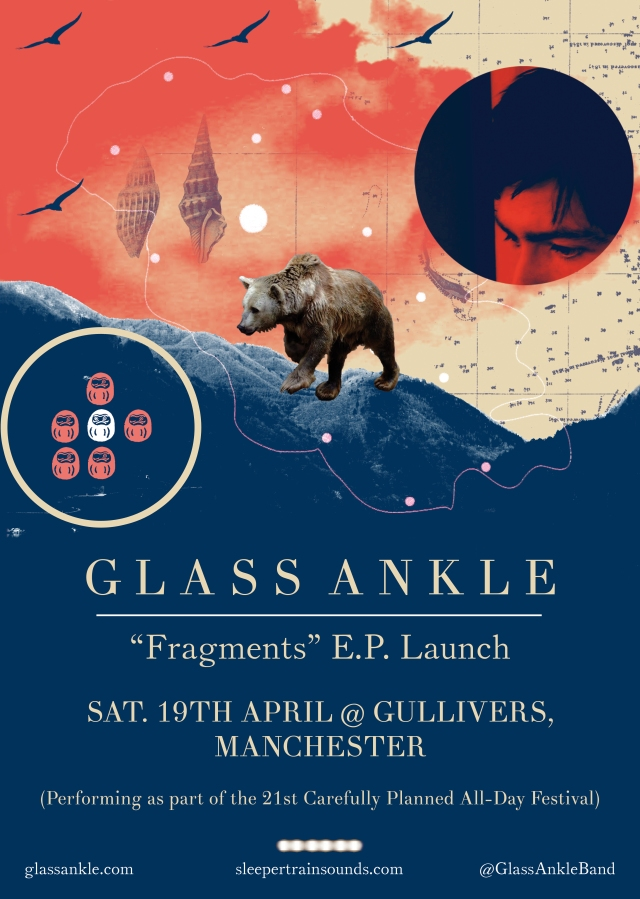 Glass Ankle - Fragments - gig promo poster a3 rastersized text with bleed JPG rgb